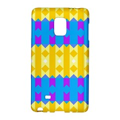 Rhombus and other shapes pattern                                          			Samsung Galaxy Note Edge Hardshell Case
