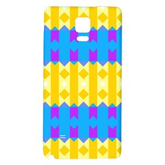 Rhombus and other shapes pattern                                          			Samsung Note 4 Hardshell Back Case