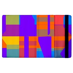 Misc colorful shapes                                           			Apple iPad 3/4 Flip Case