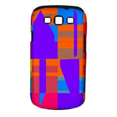 Misc colorful shapes                                           Samsung Galaxy S III Classic Hardshell Case (PC+Silicone)