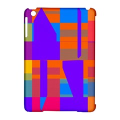 Misc Colorful Shapes                                           			apple Ipad Mini Hardshell Case (compatible With Smart Cover)