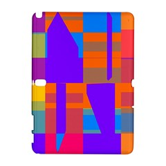 Misc colorful shapes                                           Samsung Galaxy Note 10.1 (P600) Hardshell Case