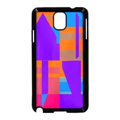 Misc Colorful Shapes                                           			samsung Galaxy Note 3 Neo Hardshell Case (black)