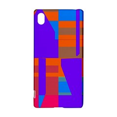 Misc Colorful Shapes                                           sony Xperia Z3+ Hardshell Case
