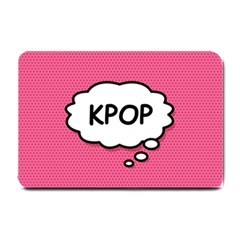 Comic Book Think Kpop Pink Small Doormat