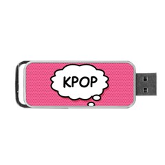 Comic Book Think Kpop Pink Portable USB Flash (Two Sides)