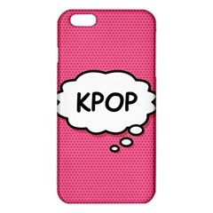Comic Book Think Kpop Pink iPhone 6 Plus/6S Plus TPU Case
