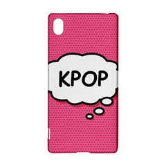 Comic Book Think Kpop Pink Sony Xperia Z3+