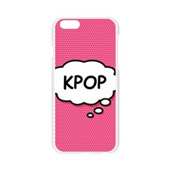 Comic Book Think Kpop Pink Apple Seamless iPhone 6/6S Case (Transparent)