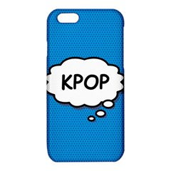 Comic Book Kpop Blue iPhone 6/6S TPU Case