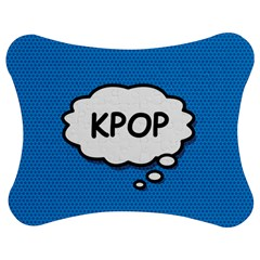 Comic Book Kpop Blue Jigsaw Puzzle Photo Stand (bow)