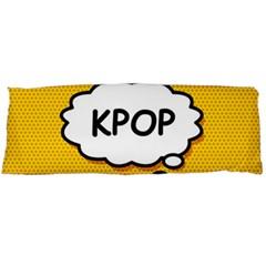 Comic Book Kpop Orange Body Pillow Case Dakimakura (Two Sides)