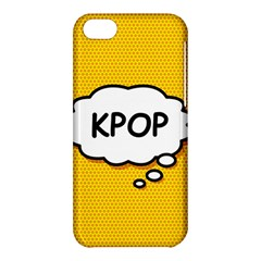 Comic Book Kpop Orange Apple iPhone 5C Hardshell Case