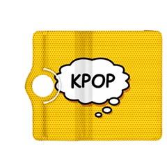 Comic Book Kpop Orange Kindle Fire HDX 8.9  Flip 360 Case