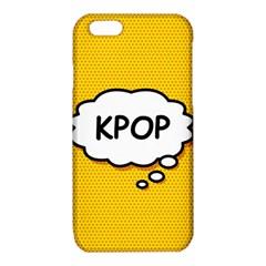 Comic Book Kpop Orange iPhone 6/6S TPU Case