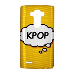 Comic Book Kpop Orange LG G4 Hardshell Case