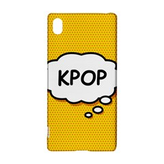 Comic Book Kpop Orange Sony Xperia Z3+
