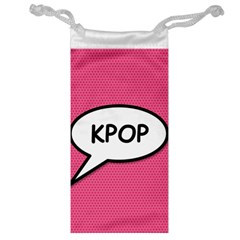 Comic Book Shout Kpop Pink Jewelry Bags