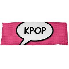 Comic Book Shout Kpop Pink Body Pillow Case (Dakimakura)