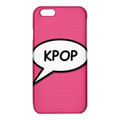 Comic Book Shout Kpop Pink iPhone 6/6S TPU Case
