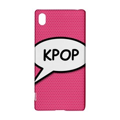Comic Book Shout Kpop Pink Sony Xperia Z3+