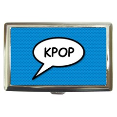 Comic Book Shout Kpop (Blue) Cigarette Money Cases
