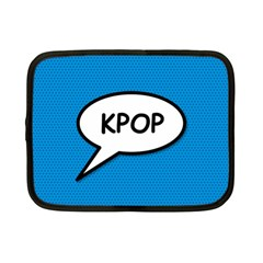 Comic Book Shout Kpop (Blue) Netbook Case (Small)