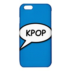 Comic Book Shout Kpop (Blue) iPhone 6/6S TPU Case