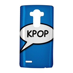 Comic Book Shout Kpop (blue) Lg G4 Hardshell Case