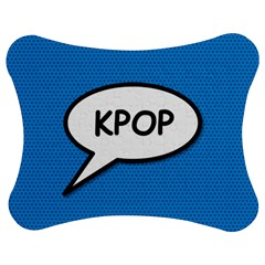 Comic Book Shout Kpop (Blue) Jigsaw Puzzle Photo Stand (Bow)