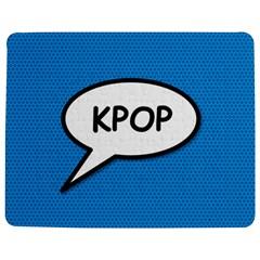 Comic Book Shout Kpop (Blue) Jigsaw Puzzle Photo Stand (Rectangular)