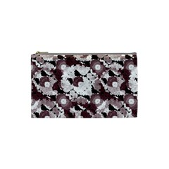 Ornate Modern Floral Cosmetic Bag (Small)