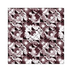 Ornate Modern Floral Acrylic Tangram Puzzle (6  X 6 )