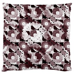 Ornate Modern Floral Large Cushion Case (One Side)