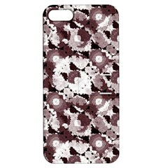 Ornate Modern Floral Apple iPhone 5 Hardshell Case with Stand