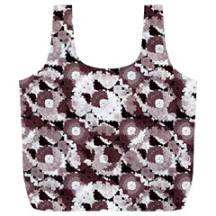 Ornate Modern Floral Full Print Recycle Bags (L)