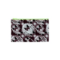 Ornate Modern Floral Cosmetic Bag (XS)