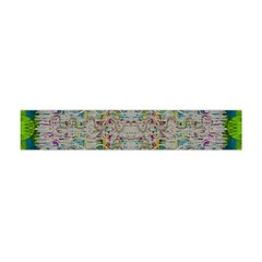Colors For Peace And Lace In Rainbows In Decorative Style Flano Scarf (Mini)