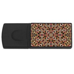 Boho Chic USB Flash Drive Rectangular (1 GB)