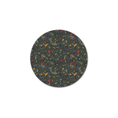 Abstract Reg Golf Ball Marker (10 pack)