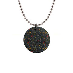 Abstract Reg Button Necklaces