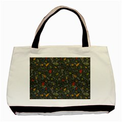 Abstract Reg Basic Tote Bag (Two Sides)