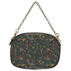 Abstract Reg Chain Purses (two Sides)