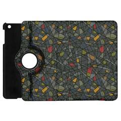 Abstract Reg Apple iPad Mini Flip 360 Case