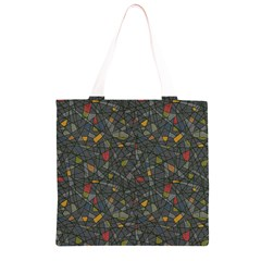 Abstract Reg Grocery Light Tote Bag