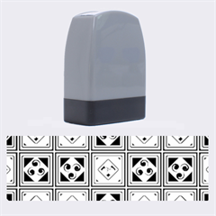 Black And White Name Stamps