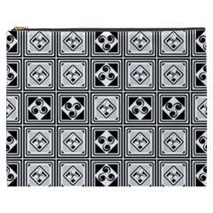 Black And White Cosmetic Bag (XXXL)
