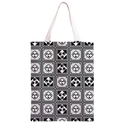 Black And White Classic Light Tote Bag