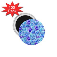 Blue And Purple Glowing 1.75  Magnets (100 pack)