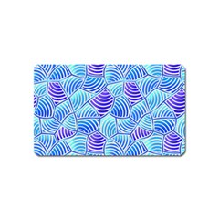 Blue And Purple Glowing Magnet (Name Card)